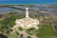 Wisata Monumen Samudera Pasai di Aceh Utara Ditutup akibat Fondasi Bangunan Tak Kuat