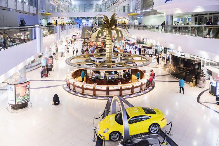Ilustrasi Dubai International Airport.