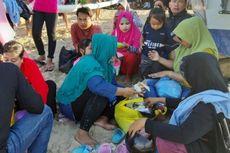 Tradisi Lebaran Ketupat, Makan Bersama di Pantai Sanur