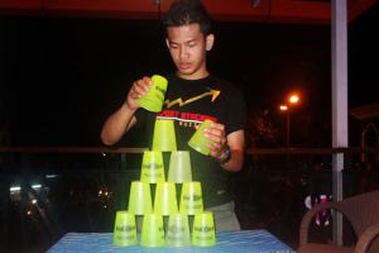 Aji Galuh Rakasiwi, Founder Indonesia Sport Stacking