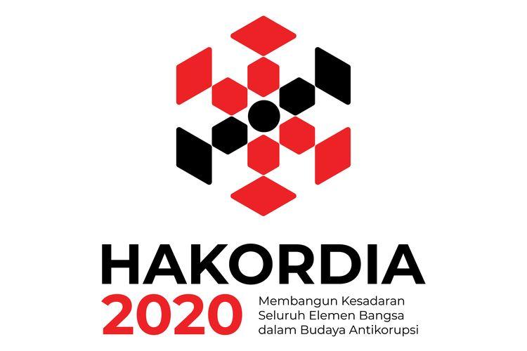 Logo Hari Anti Korupsi Sedunia (Hakordia) Tahun 2020.