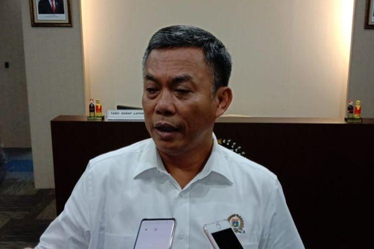 Ketua DPRD DKI Jakarta Prasetio Edi Marsudi di lantai 10, Gedung DPRD DKI, Jalan Kebon Sirih, Jakarta Pusat, Kamis (5/12/2019)