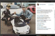 Anak Raffi Ahmad Dapat Hadiah Mini Lamborghini Aventador