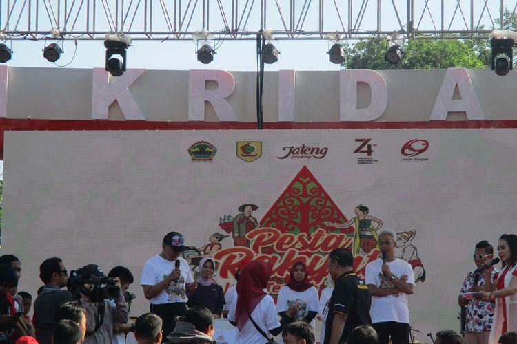Pesta rakyat Jateng