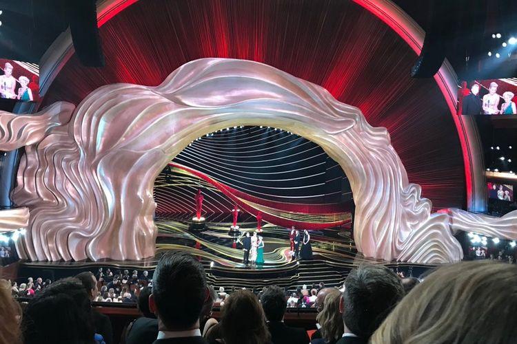 Panggung Oscar, Minggu (24/2/2019) malam.