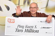 Pria Ini Menang Lotre Rp 21 Miliar di Hari Ulang Tahunnya