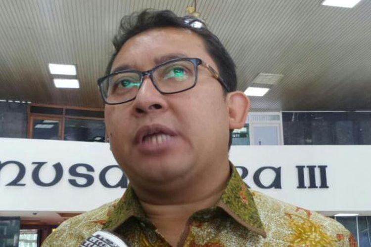 Wakil Ketua DPR RI Fadli Zon di Kompleks Parlemen, Senayan, Jakarta, Selasa (7/2/2017).