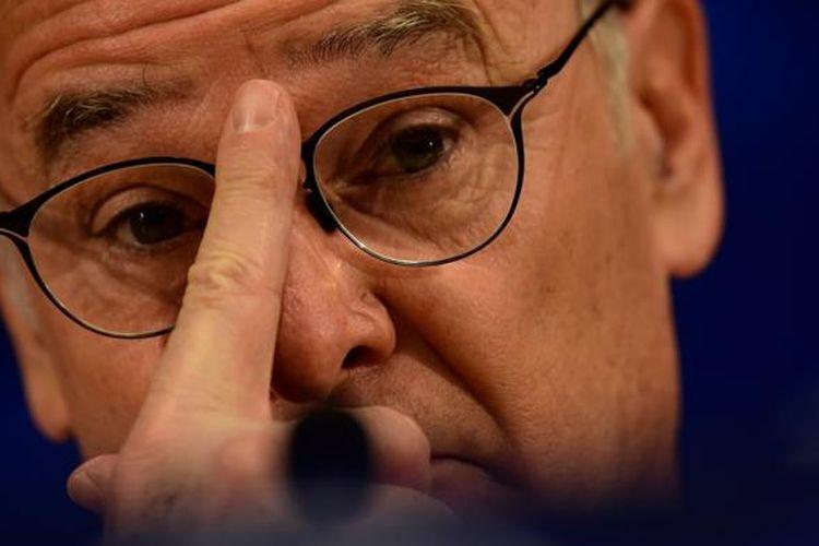 Claudio Ranieri menjalani jumpa pers menjelang partai antara Porto dan Leicester City pada fase grup Liga Champions, 6 Desember 2016.