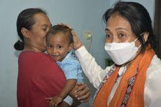 Haru, Menteri Bintang Peluk Josh, Bayi 9 Bulan yang Selamat dari Banjir Bandang di Alor NTT, Orangtuanya Meninggal