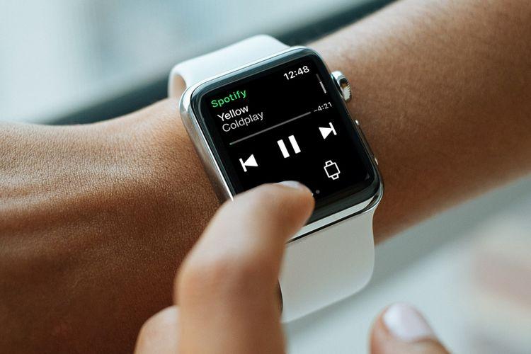 Streaming Spotify di Apple Watch