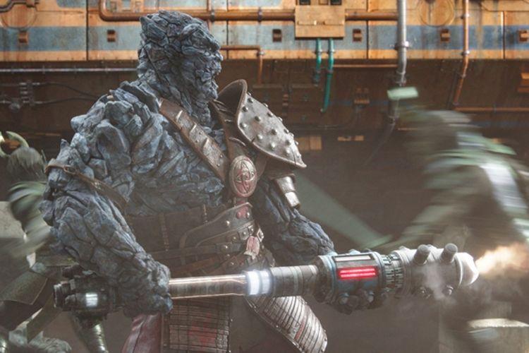 Taika Waititi mengisi suara Korg dalam Thor: Ragnarok (2017)