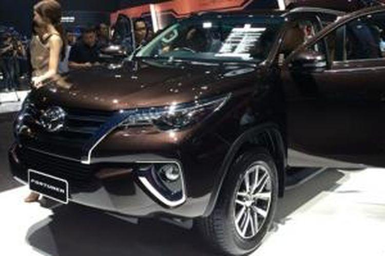 Toyota All-New Fortuner resmi diperkenalkan di Thailand, Kamis (16/7/2015).