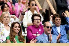 Usai Isoman, Pangeran William dan Kate Nonton Final Wimbledon