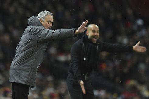 Guardiola Serang Mourinho yang Punya Kebiasaan Salahkan Wasit