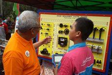 Puluhan SMK Jakarta Utara Pamerkan Produk Hasil Karya Mereka di Kantor Pemkot