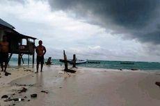 103 Rumah di Pulau Ambo, Sulawesi Barat, Terancam Tenggelam akibat Abrasi