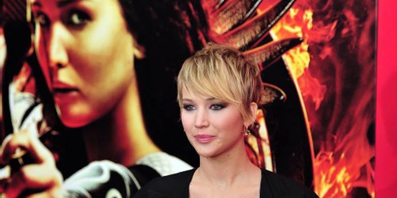 Salah satu pesohor yang diretas akunnya adalah Jennifer Lawrence.