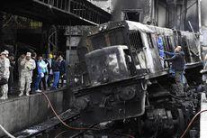 Kereta Tabrak Pagar Pembatas di Kairo Disebabkan Perkelahian Masinis