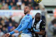 Newcastle Vs Man City, The Citizens Gagal Menang dalam Drama 4 Gol