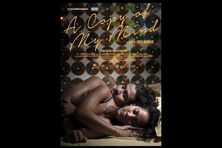 Poster Film A Copy of My Mind (2015) dibintangi Tara Basro dan Chicco Jerikho.