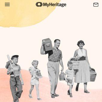Tampilan layar aplikasi MyHeritage yang dapat mengubah foto diam menjadi hidup.