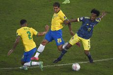 Hasil Copa America Brasil Vs Kolombia, Tim Samba Menang Dramatis
