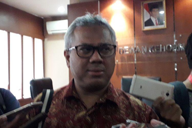 Ketua Komisioner KPU Arief Budiman