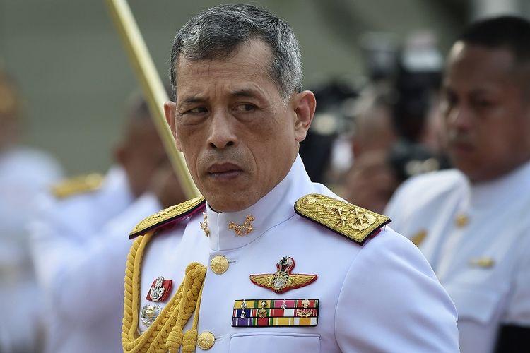 Raja Thailand Maha Vajiralongkorn.