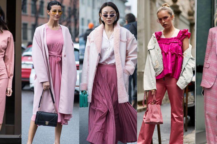 Street style dari ajang Pekan Mode Milan 2018.