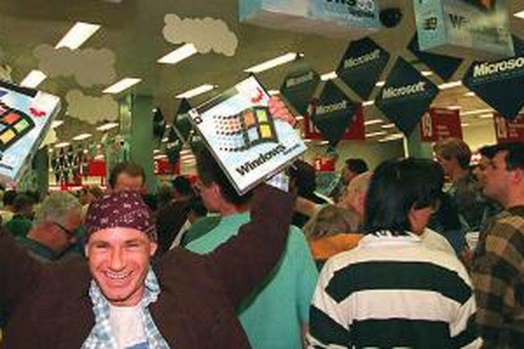 Peluncuran Windows 95
