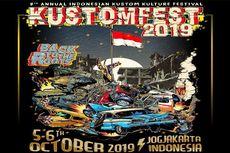 Siap Digelar, Kustomfest 2019 Ambil Tema Penuh Makna