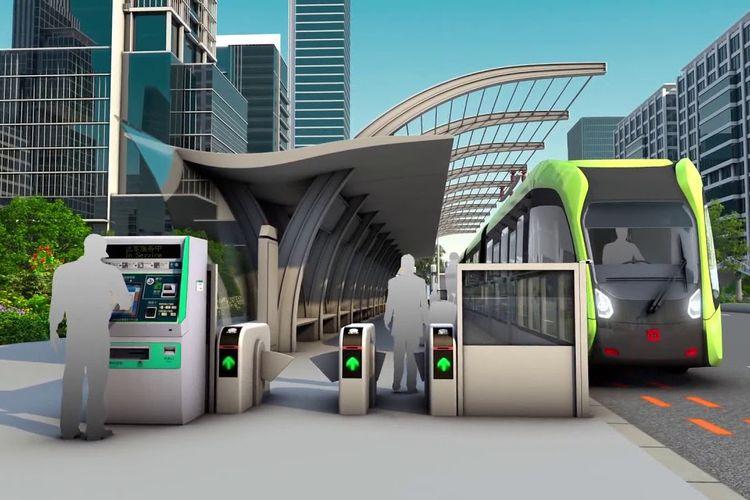 Malaysia akan menguji coba sistem angkutan umum autonomous rail rapid transit (ART) tahun 2021.