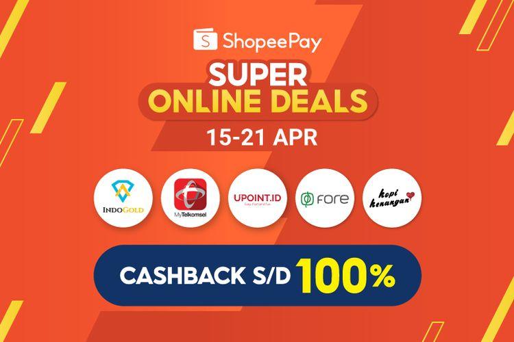ShopeePay menghadirkan ShopeePay Super Online Deals untuk memeriahkan perayaan bulan Ramadhan. (DOK. ShopeePay)