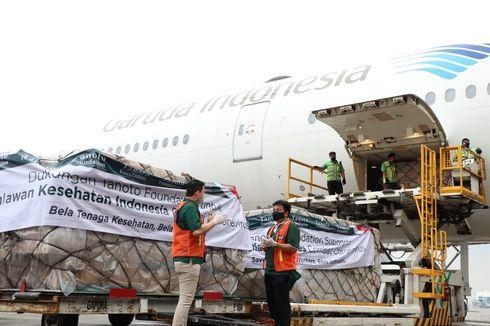 Carter Boeing 777-300ER, Tanoto Foundation Kembali Datangkan APD Seberat 30 Ton
