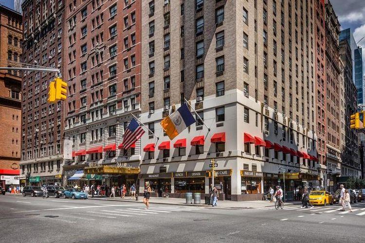 Hotel Wellington, New York, Amerika Serikat.