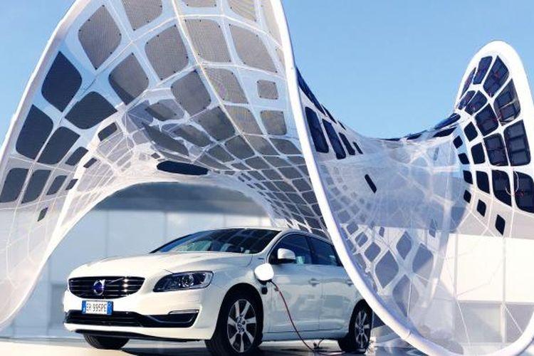 SDA memenangkan kompetisi Switch to Pure Volvo karena desainnya mengikutsertakan struktur ringan bagi karport dan alat pengisi baterai bagi mobil hybrid Volvo V60. Dengan bentuk futuristik dan penggunaan panel surya, desain ini memang tampak dan berfungsi istimewa.