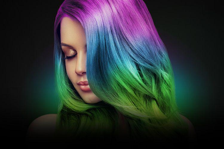 Ilustrasi produk Razer Rapunzel Chroma Hair Dye.
