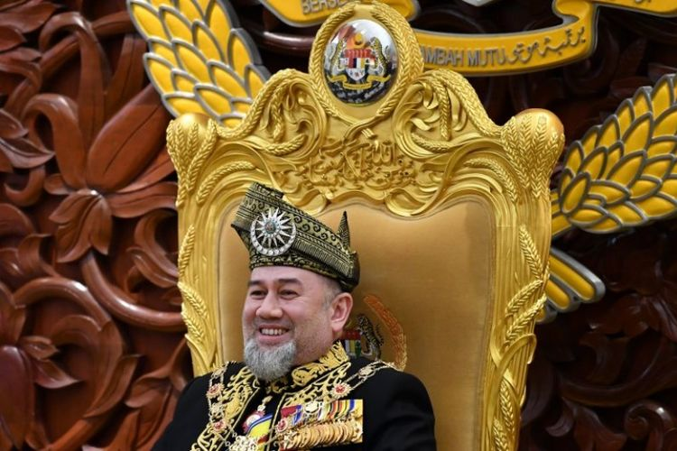 Sultan Muhammad V dari Kelantan. (AFP/Mohd Rasfan)