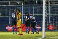 Arema FC Vs Barito Putera, Singo Edan Merangsek ke Tiga Besar