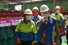 Sambangi Pabrik Baja Ringan, Ini Temuan Kementerian PUPR