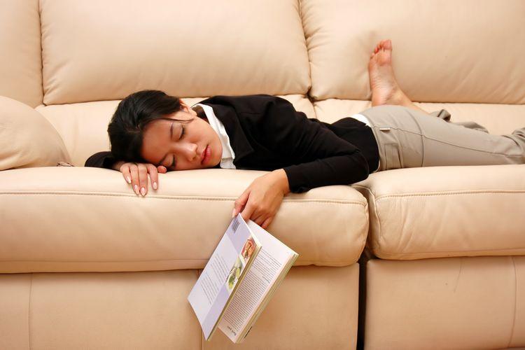 Tidur siang dapar mengembalikan energi yang diperlukan tubuh untuk melanjutkan aktivitas.