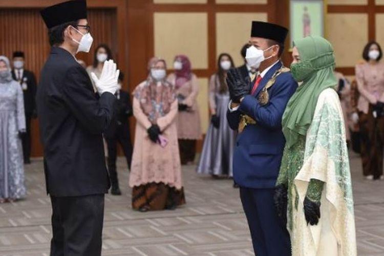 Muryanto Amin resmi dilantik menjadi Rektor USU ke-16, periode 2021-2026.