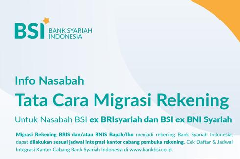 Tabungan Nasabah Eks-BNI Syariah Senilai Rp 16,1 Triliun Pindah ke BSI