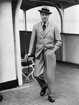 Pangeran Edward Prince of Wales di Kanada pada 1919.