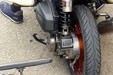 Dampak Buruk Motor Matik Tidak Pakai Tutup CVT