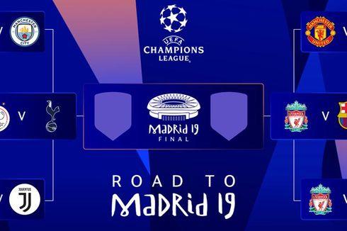 Jadwal Semifinal Liga Champions, Ajax Vs Tottenham, Liverpool Vs Barcelona