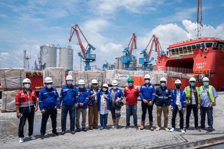 Arpro dipercaya oleh Eastern Drilling Ltd selaku kontraktor pengeboran untuk menangani proyek handling dan transportasi eksplorasi minyak di Suai, Timor Leste.