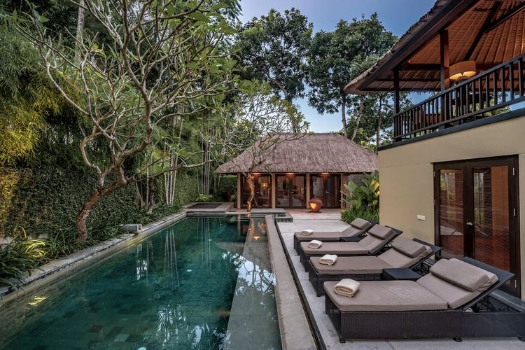 Tipe Two-Bedroom Residence Pool Villa di Kayumanis Nusa Dua Private Villa & Spa.
