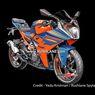 Siap Meluncur, Penampakan KTM RC 125, RC 200 dan RC 390 Bocor
