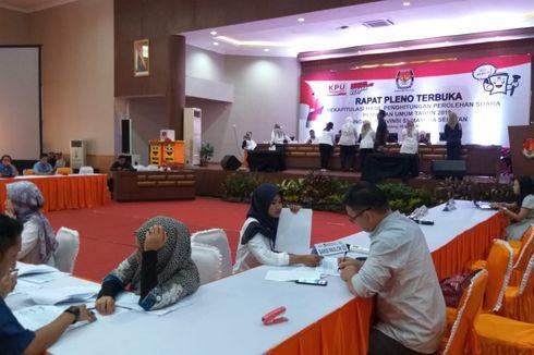 Rekapitulasi KPU Sumsel: Prabowo Ungguli Jokowi di 16 Kabupaten/Kota